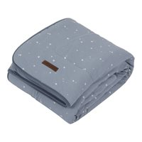 Picture of Bassinet blanket  Little Stars blue