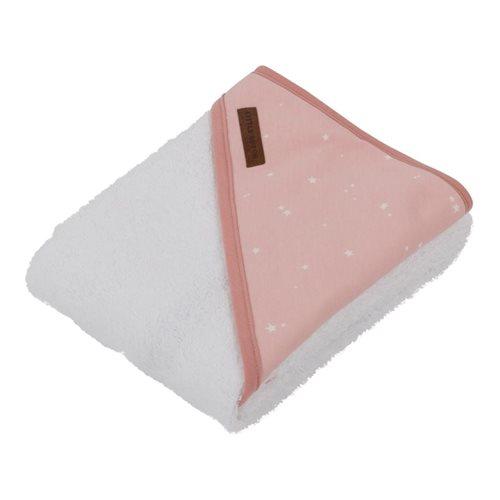 Kapuzenhandtuch Little Stars pink