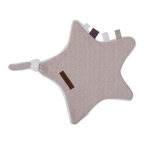Picture of Cuddle cloth, star Mauve Waves