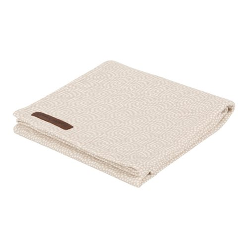 Musselintuch Swaddle 120 x 120 Beige Waves