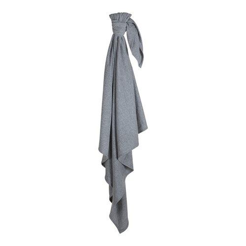 Maxi-lange swaddle 120 x 120 Grey Melange