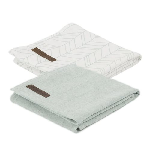 Langes Swaddles 70 x 70 70 x 70 Mint Melange