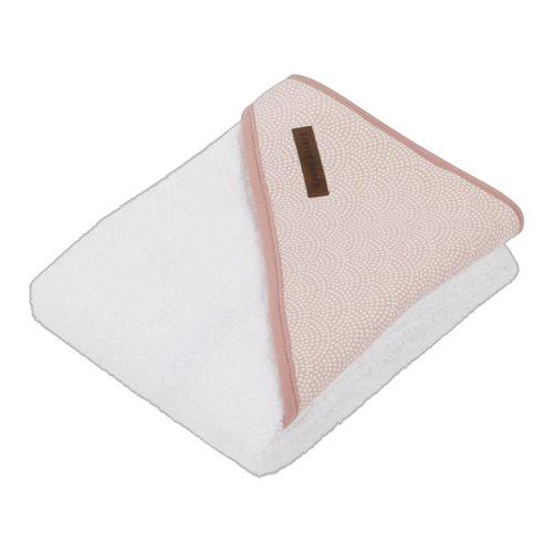 Afbeelding van Badcape  pink Waves