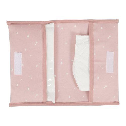Windeltasche Little Stars pink