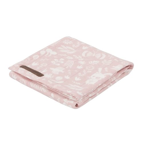 Musselintuch Swaddle 120 x 120 Adventure pink