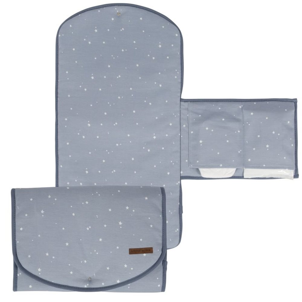 Picture of Changing pad comfort Little Stars blue