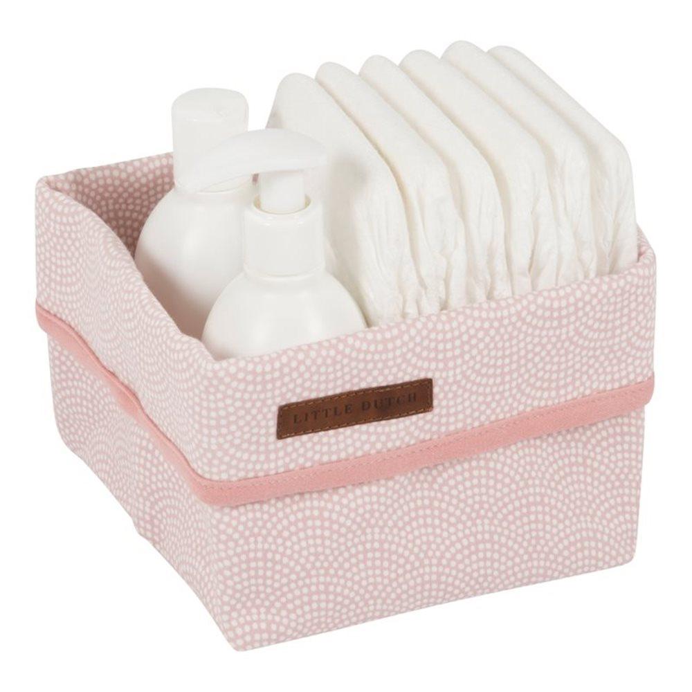 Panier de toilette petit pink Waves