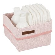 Picture of Storage basket small pink Waves