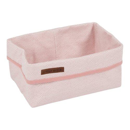 Pflegekörbchen Groß pink Waves