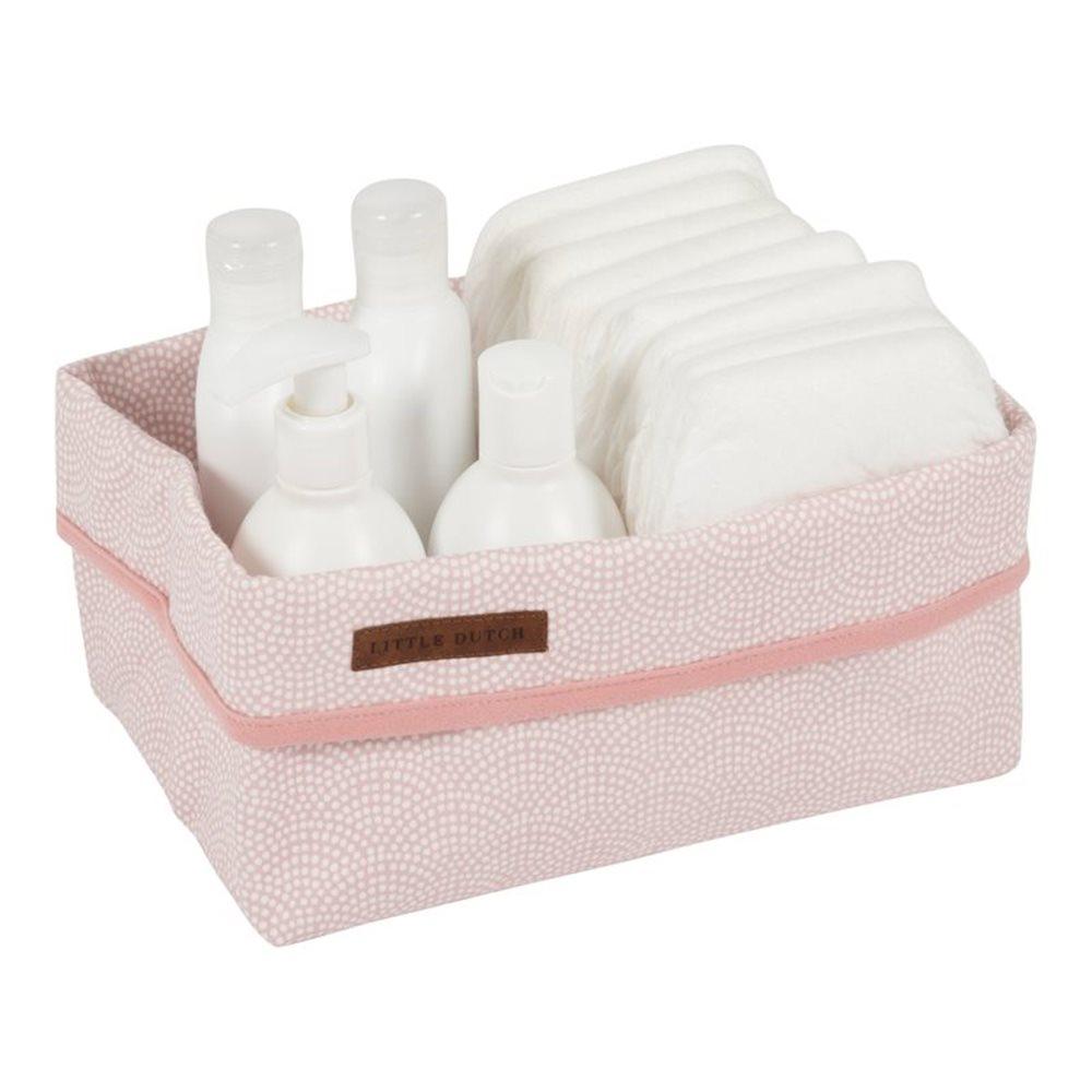 Picture of Storage basket large pink Waves