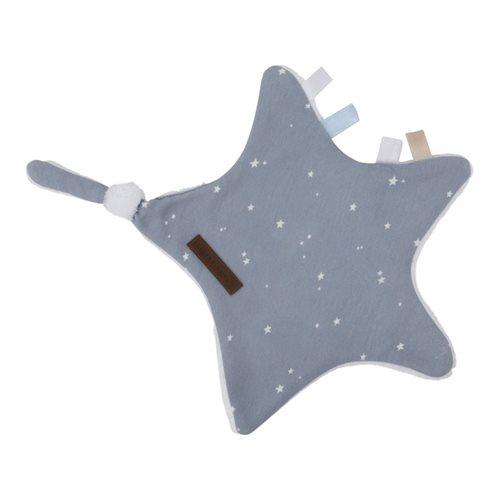 Doudou étoile Little Stars blue