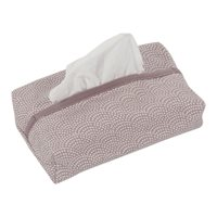 Picture of Baby wipes cover Mauve Waves