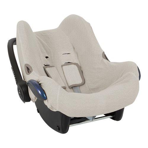 Housse de protection pour siège-auto 0+ beige Waves