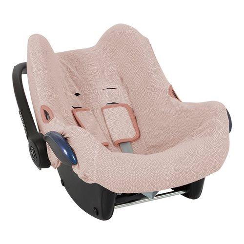 Afbeelding van Hoes autostoeltje 0+ pink Waves