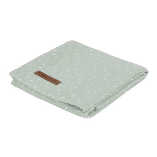 Maxi-lange swaddle 120 x 120 mint Sprinkles