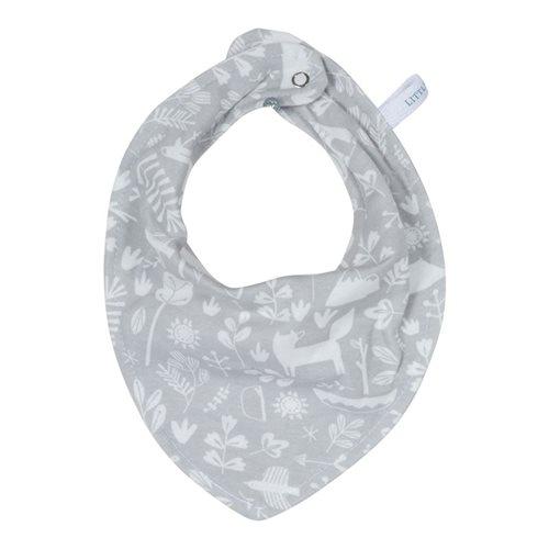 Bavoir bandana Adventure grey