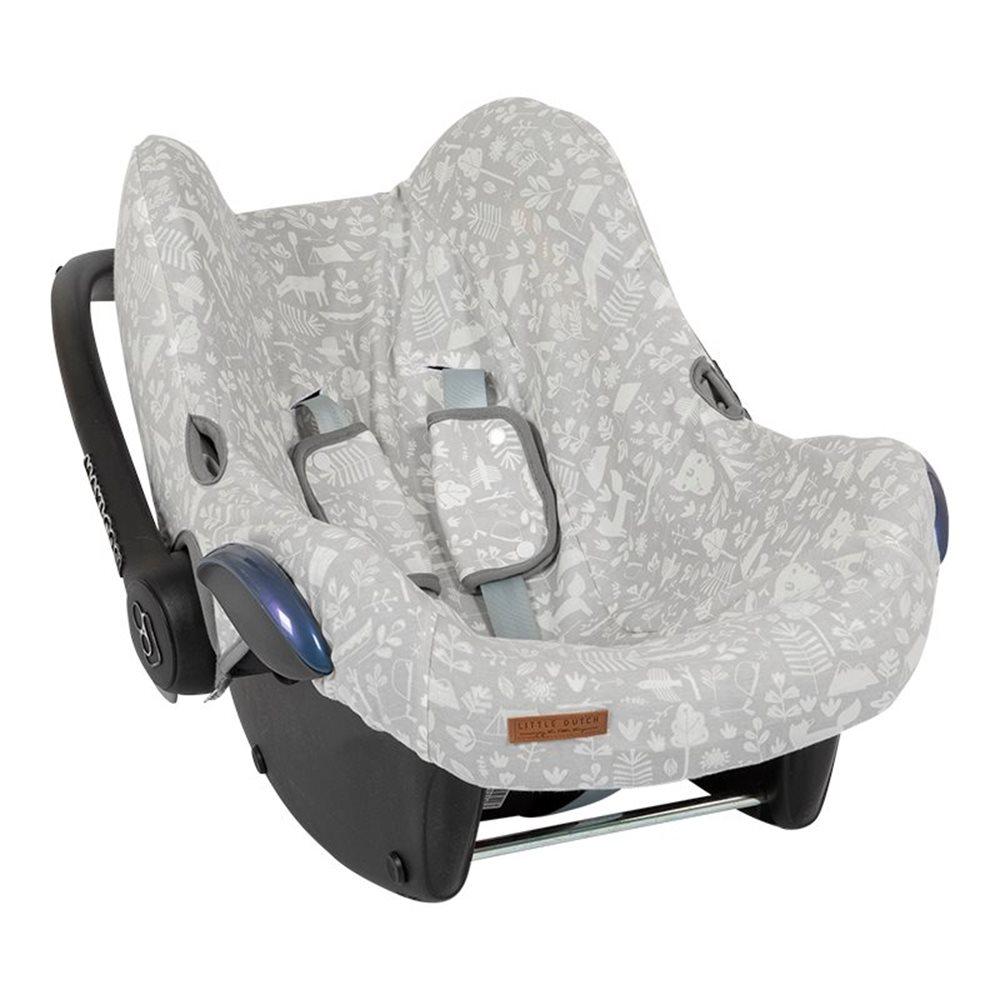 Afbeelding van Hoes autostoeltje 0+ Adventure grey