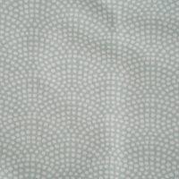Afbeelding van Eenpersoonshoeslaken Mint Waves