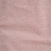 Kinderbettdecke pink Waves