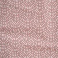 Wiegedecke  pink Waves
