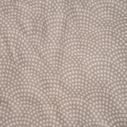 Afbeelding van Eenpersoonshoeslaken Beige Waves