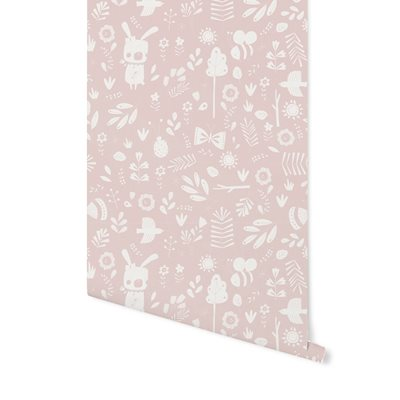 Picture of Non-Woven Wallpaper Adventure Pink