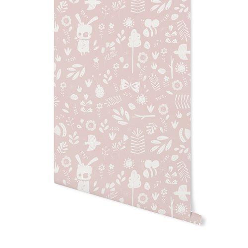 Papier peint intissé Adventure Pink