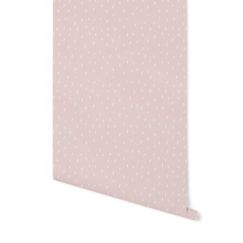 Papier peint intissé Sprinkles Pink