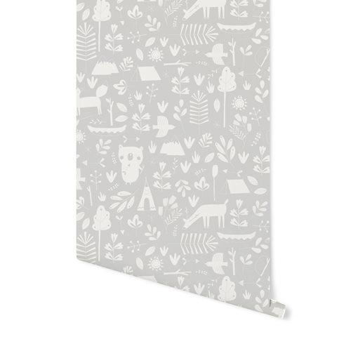 Picture of Non-Woven Wallpaper Adventure Grey