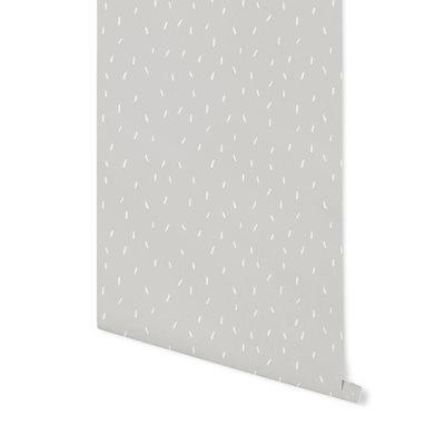 Papier peint intissé Sprinkles Grey