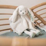 Afbeelding van Knuffeldoek lang konijn Adventure Mint