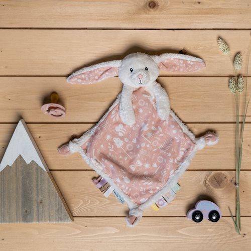 Doudou lapin Adventure Pink