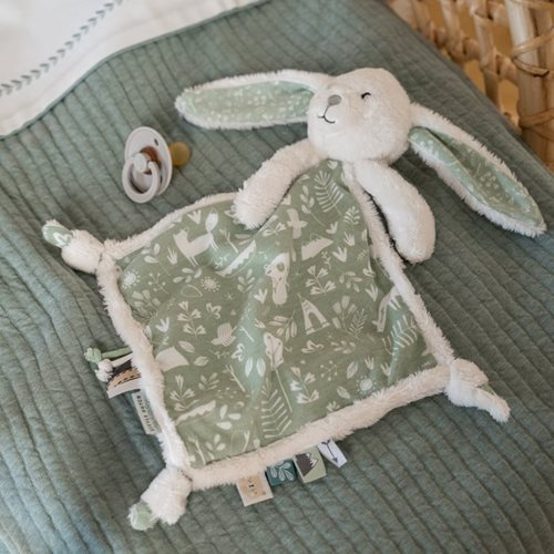 Doudou lapin Adventure Mint