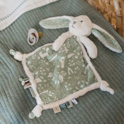 Afbeelding van Knuffeldoek konijn Adventure Mint