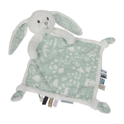 Kuscheltuch Hase Adventure Mint