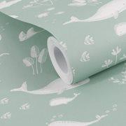Afbeelding van Vliesbehang Ocean Mint