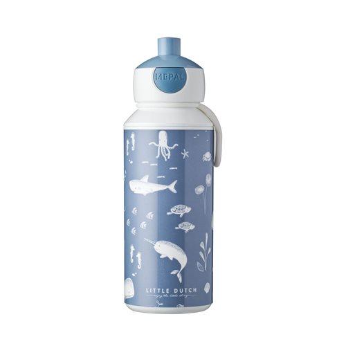 Trinkflasche Pop-up Ocean Blue