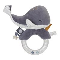 Picture of Ring rattle Whale Ocean Blue
