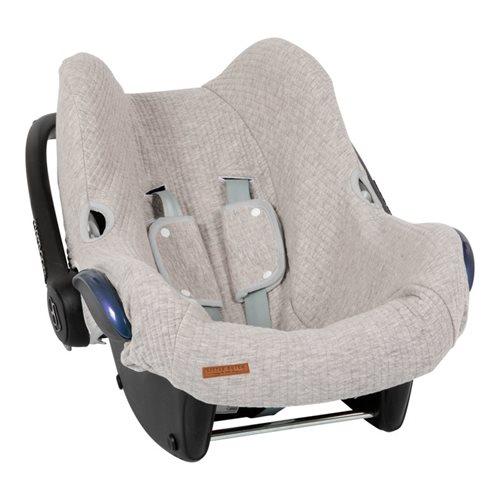 Afbeelding van Hoes autostoeltje 0+ Pure Grey