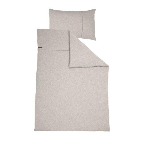 Kinderbettbezug Pure Grey