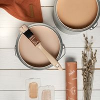Picture of Wall paint extra mat 2,5L - Faded Rust