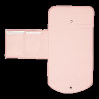 Wickelunterlage für unterwegs Sprinkles Pink