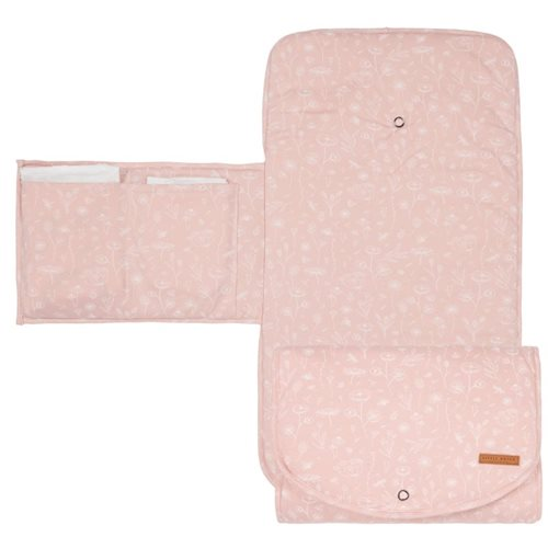 Picture of Changing pad Wild Flowers Pink