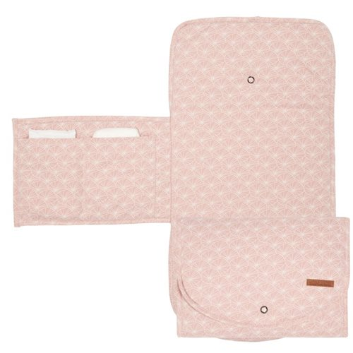 Picture of Changing pad comfort Lily Leaves Pink