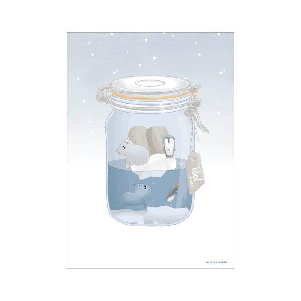 Picture of Poster A3 - Mini Polar Jar