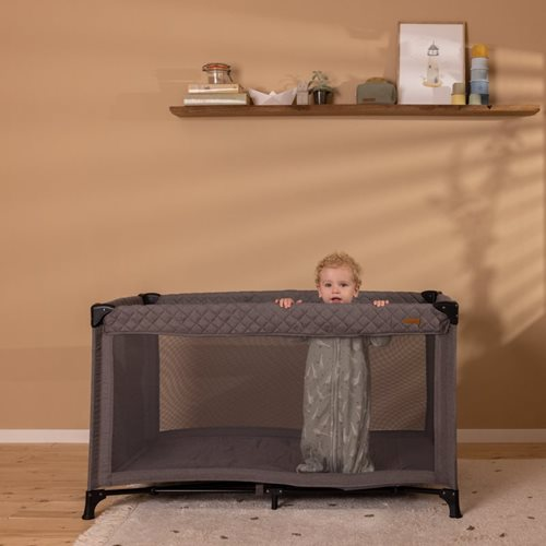 Picture of Travel cot in bag - Grey