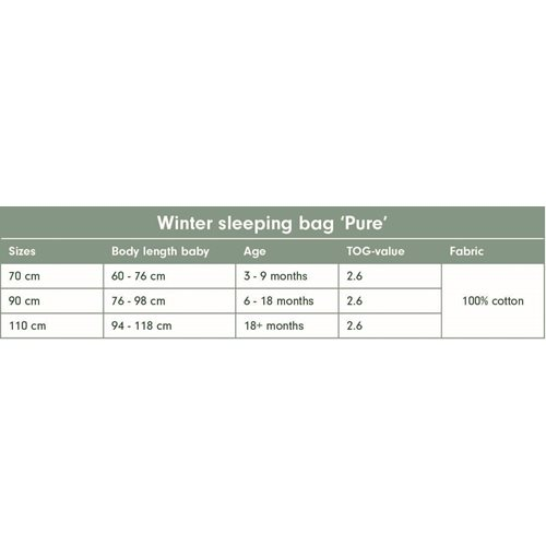 Picture of Winter sleeping bag 70 cm Pure Olive