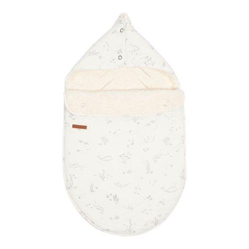 Babyschalen-Fußsack 0+ Ocean White