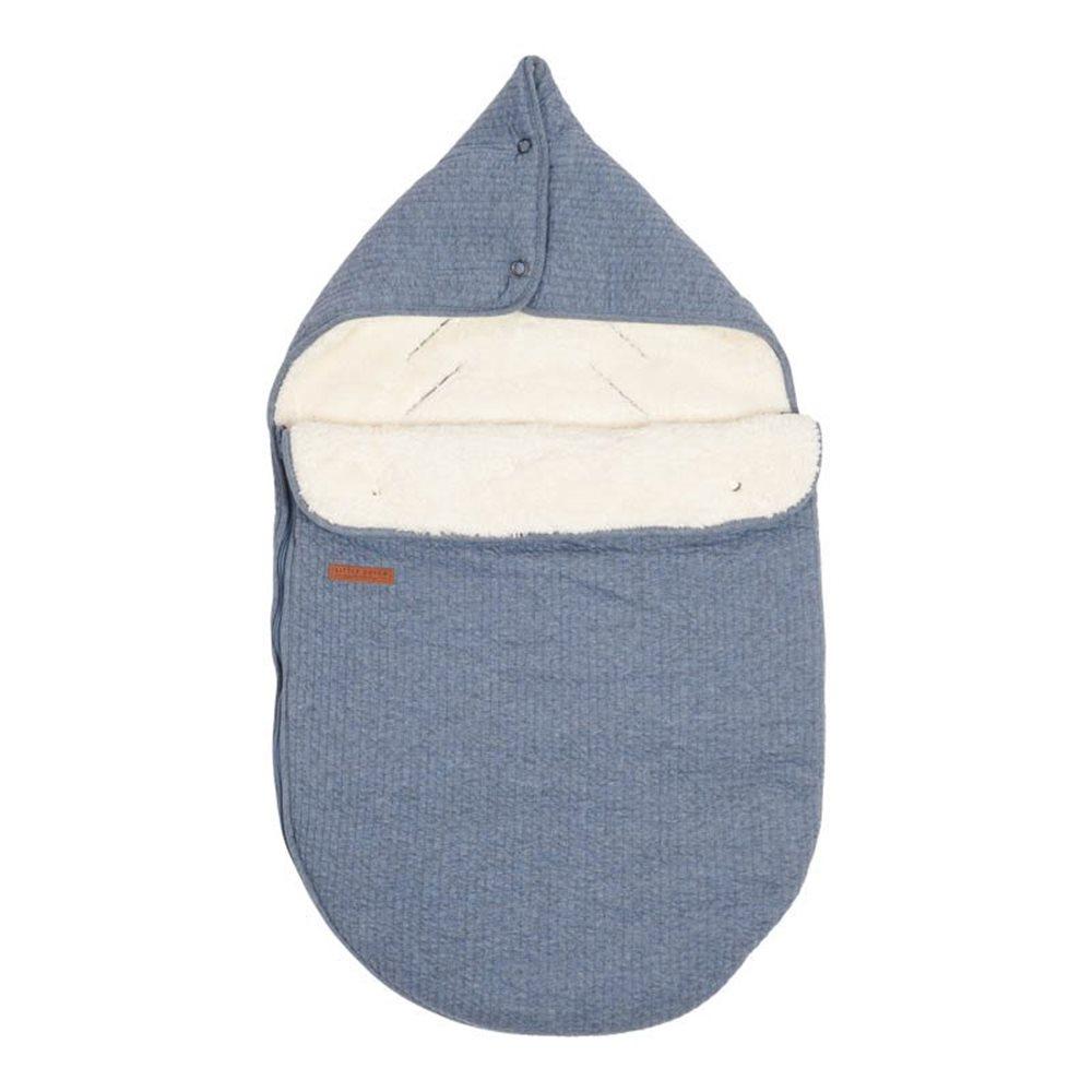Picture of Car seat 0+ footmuff - Pure Blue