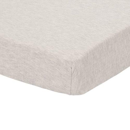 Afbeelding van Hoeslaken wieg Pure Grey